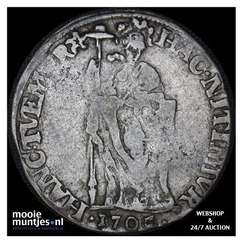 West-Friesland - Gulden - 1721 (kant A)