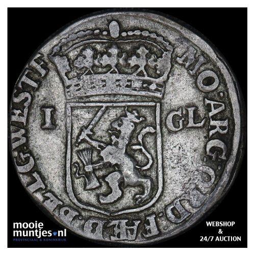 West-Friesland - Gulden - 1721 (kant B)