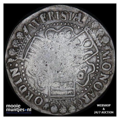 West-Friesland - Halve zilveren rijder of halve dukaton - 1764 (kant A)