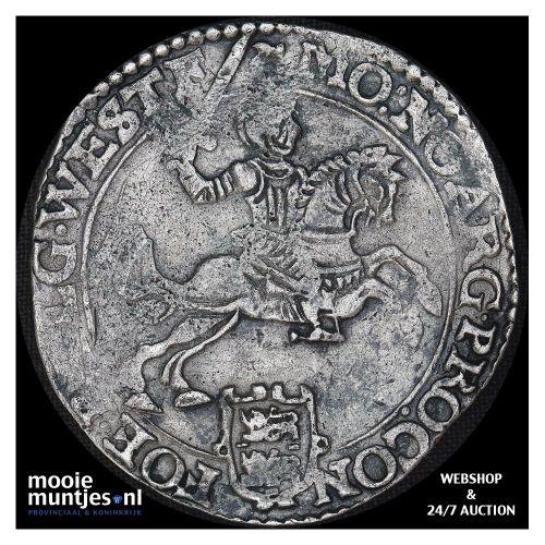 West-Friesland - Zilveren rijder of dukaton - 1666 (kant B)