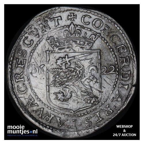 West-Friesland - Zilveren rijder of dukaton - 1666 (kant A)