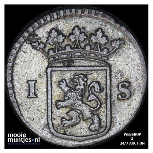 Holland - Scheepjesschelling - 1735 (kant B)