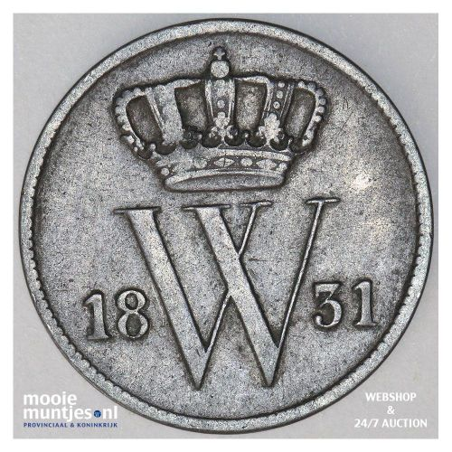 1 cent - Willem I - 1831 (kant A)