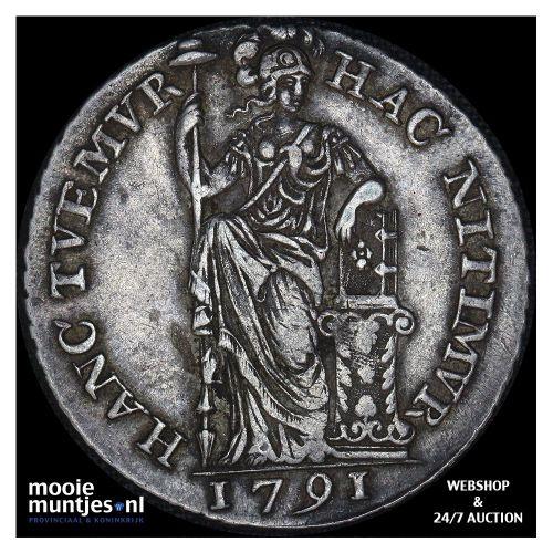 Holland - Halve gulden - 1749 gladde rand (kant A)