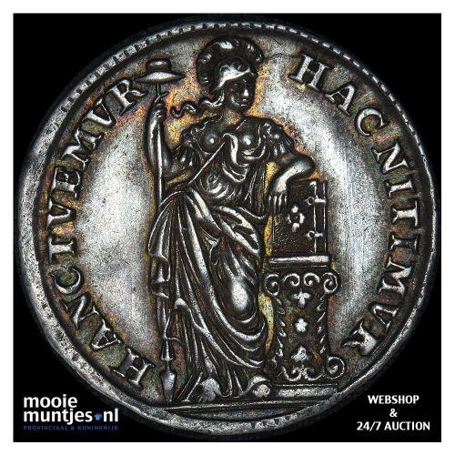 Holland - Halve gulden - 1748 gladde rand (kant B)