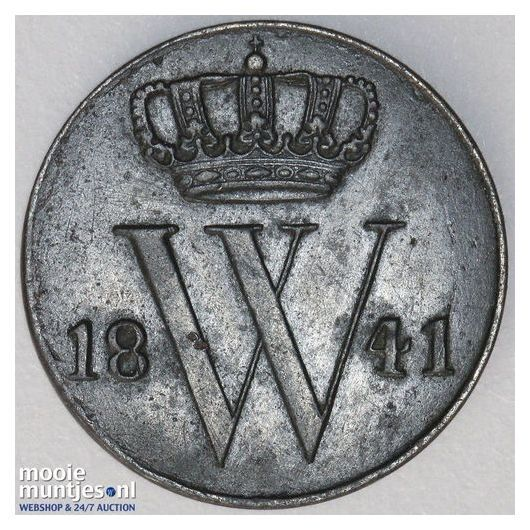½ cent - Willem I - 1823 Brussel (kant A)