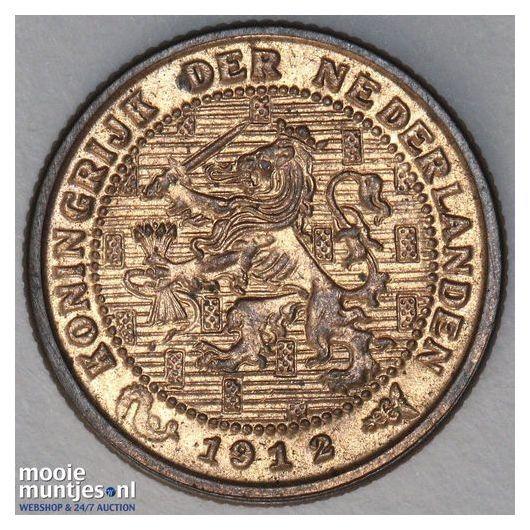 ½ cent - Wilhelmina - 1891 (kant A)