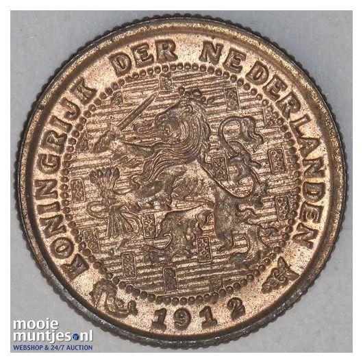 ½ cent - Wilhelmina - 1900 (kant A)