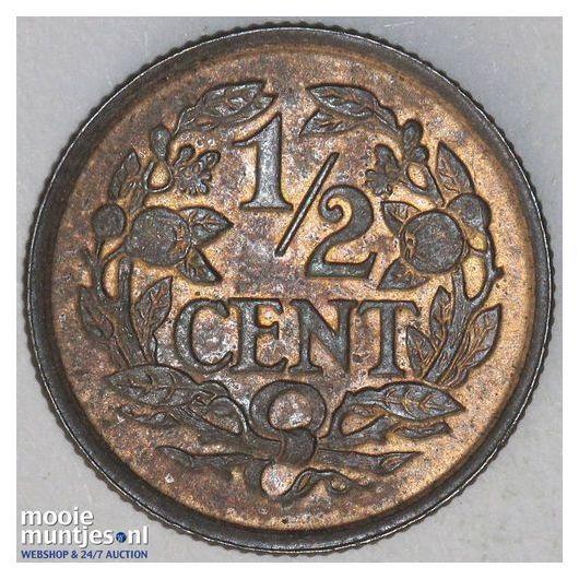½ cent - Wilhelmina - 1900 (kant B)