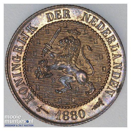 2½ cent - Wilhelmina - 1929 (kant A)