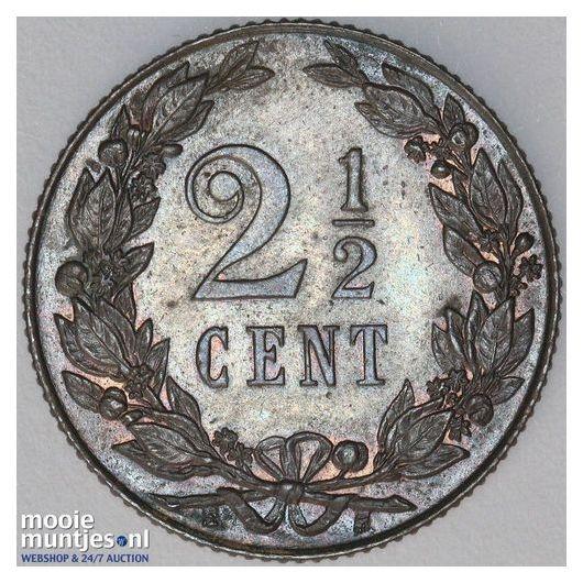 2½ cent - Wilhelmina - 1905 (kant B)