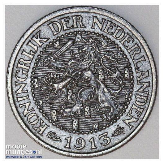 2½ cent - Wilhelmina - 1905 (kant A)