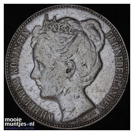 2½ gulden - Wilhelmina - 1898 (kant B)