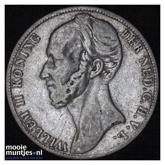 1 gulden - Willem II - 1848 (kant B)