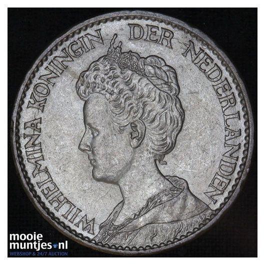 1 gulden - Wilhelmina - 1914 (kant B)