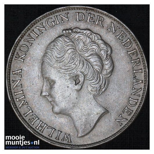 1 gulden - Wilhelmina - 1930 (kant B)