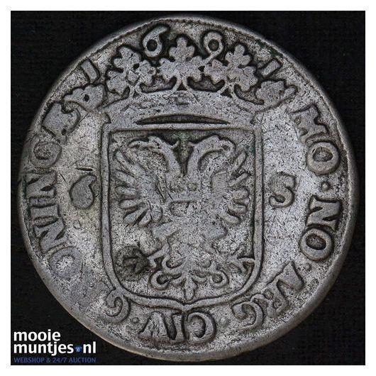 Groningen - Rijderschelling - 1691 (kant A)