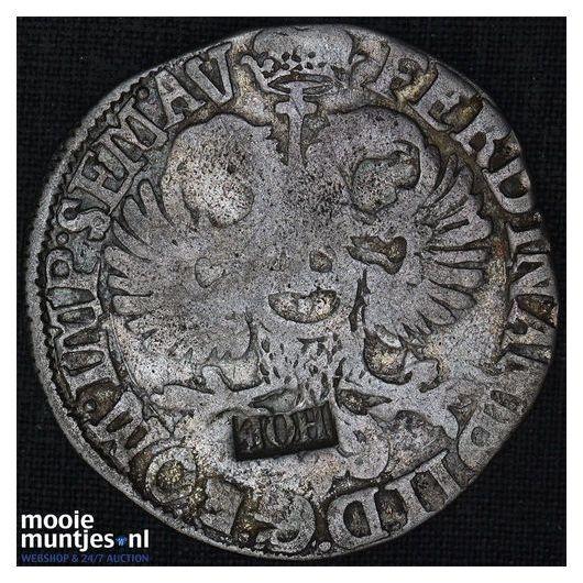 Gelderland - Halve duit - 1757 (kant B)