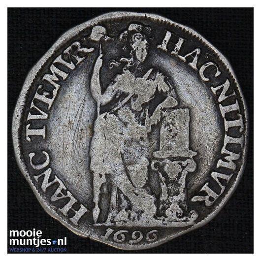 Friesland - Nederlandse halve gulden - 1696 (kant A)