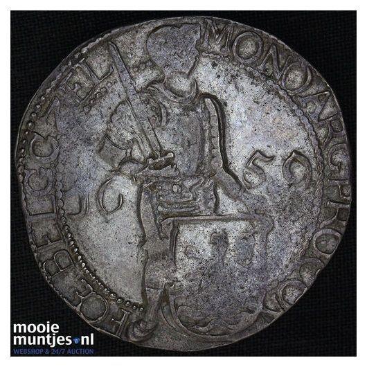 Zeeland - Zilveren dukaat - 1659 (kant A)