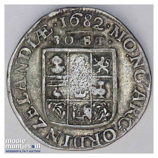 Zeeland - Zilveren rijder of dukaton - 1755 (kant A)