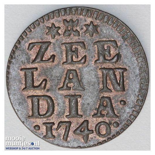 Zeeland - Duit - 1602 (kant A)