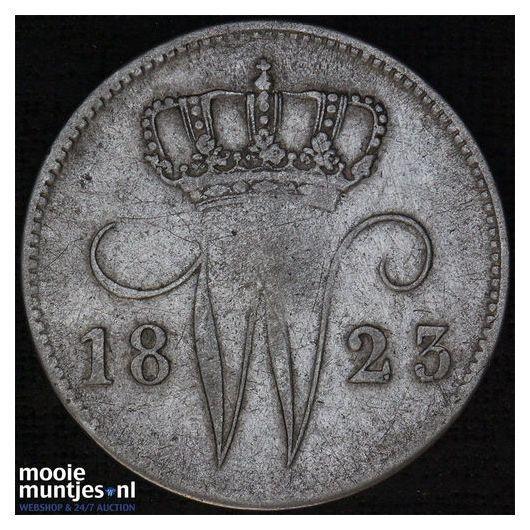 25 cent - Willem I - 1830 (kant A)