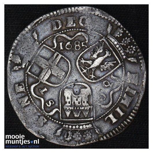 Overijssel - Daalder van 30 stuiver - 1685 (kant A)