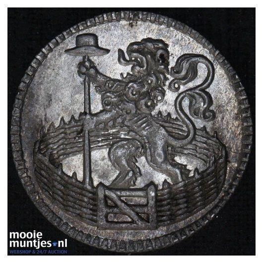 Holland - Duit - 1747 (kant B)