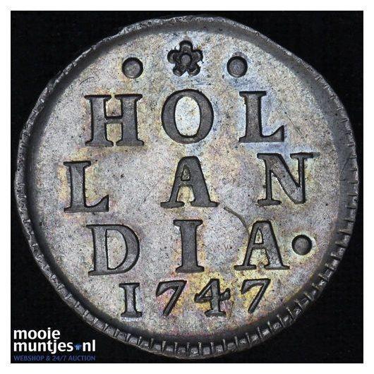 Holland - Duit - 1747 (kant A)