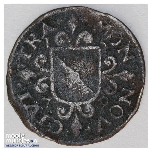 Zeeland - Duit - 1641 (kant A)