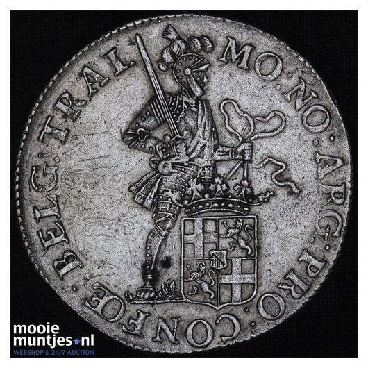 Utrecht - Zilveren dukaat - 1800 (kant B)