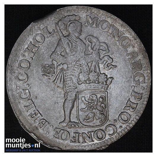 Holland - Leeuwendaalder - 1662 (kant B)