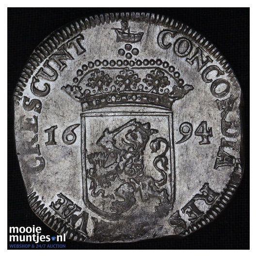 West-Friesland - Zilveren dukaat - 1694 (kant A)