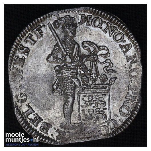 West-Friesland - Zilveren dukaat - 1694 (kant B)