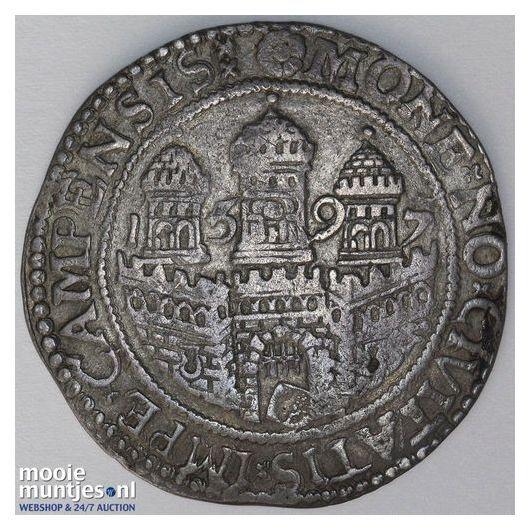 Kampen - Arendsrijksdaalder - 1597 over 96 (kant A)