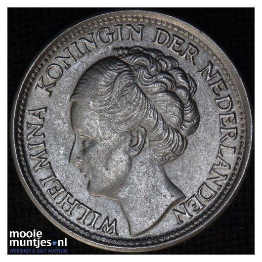 10 cent - Wilhelmina - 1944 ES (kant B)