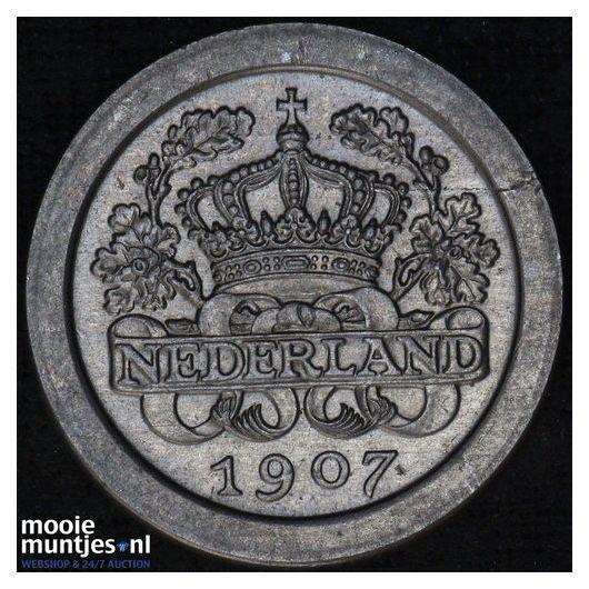 5 cent - Wilhelmina - 1943 (kant A)