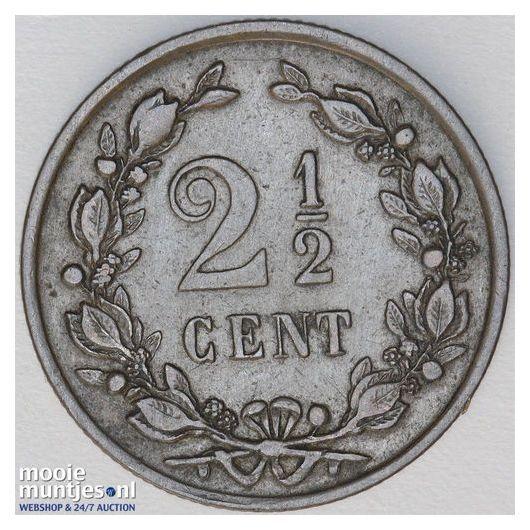 2½ cent - Willem III - 1877 (kant B)