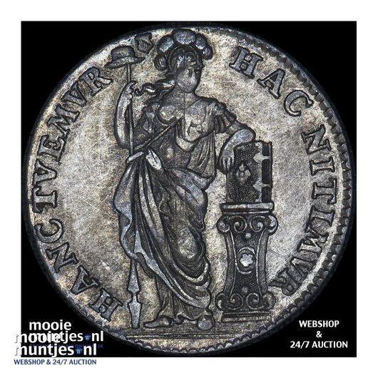 Utrecht - Kwart gulden - 1758 (kant B)