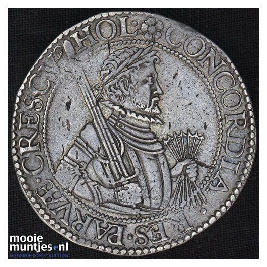 Holland - Leicesterrijksdaalder, zes provinciewapens - 1587 (kant B)