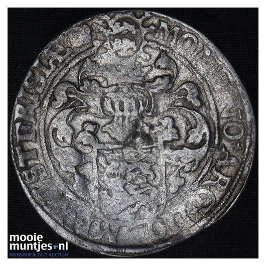 West-Friesland - Gehelmde rijksdaalder of Prinsendaalder - 1598 (kant B)