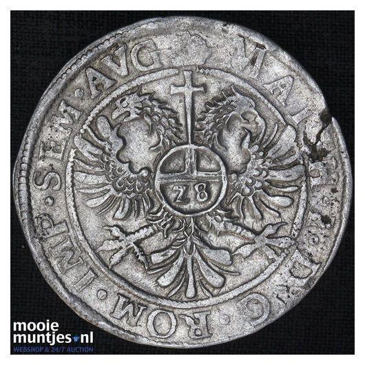 Zeeland - Nederlandse rijksdaalder - 1623 (kant B)