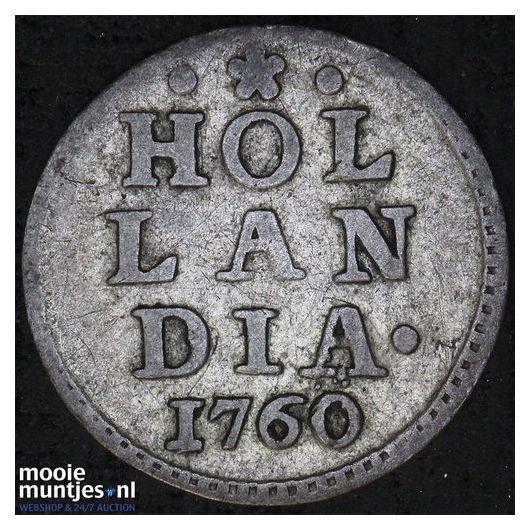 Holland - Dubbele wapenstuiver - 1792 (kant A)