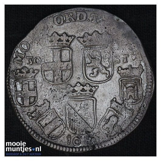 Utrecht - Pijl- of bezemstuiver - 1738 (kant A)