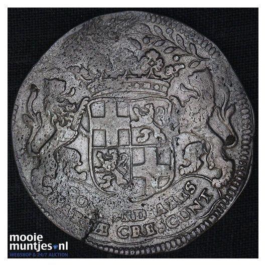 Utrecht - Pijl- of bezemstuiver - 1738 (kant B)