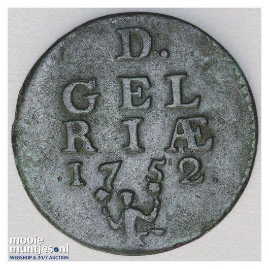 Gelderland - Duit - 1703 (kant A)