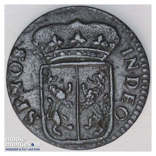 Gelderland - Duit - 1703 (kant B)