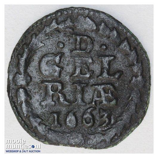 Gelderland - Duit - 1626 (kant A)