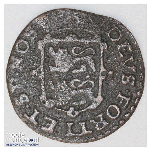 West-Friesland - Duit - 1702 (kant B)